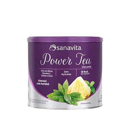 Power Tea Chá Verde - Abacaxi com Hortelã - 250g