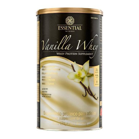Vanilla Whey Essential Nutrition - 450g