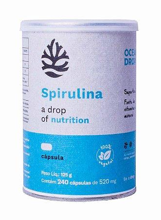 Spirulina Ocean Drop - 240 Cápsulas