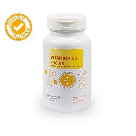 Vitamina D3 Divinitè 2000UI - 30 Cápsulas