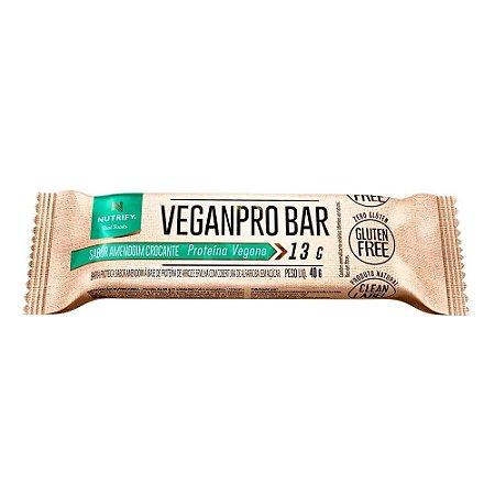 VeganPro Bar Amendoim Crocante Nutrify - 40g