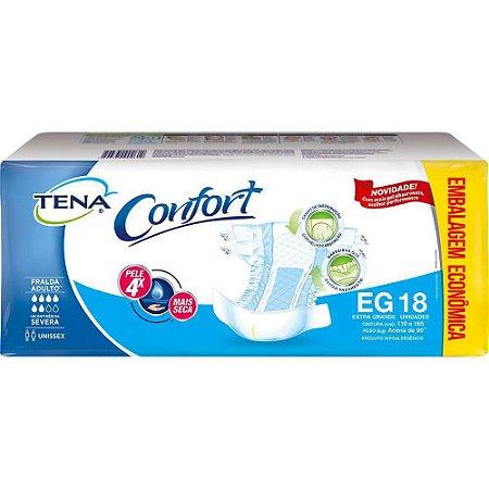 Fralda Tena Confort EG - 18 Unidades