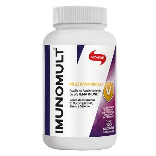 Imunomult Multivitamínico Vitafor - 120 Cápsulas