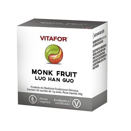Monk Fruit Vitafor - 30 Sachês