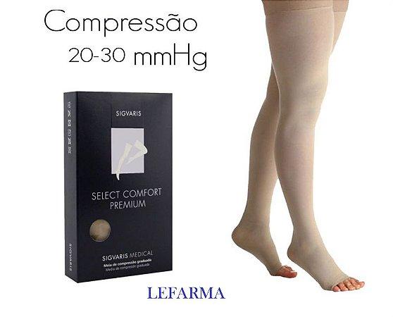 Meia Select Comfort Premium 7/8 AF 20-30 mmHg