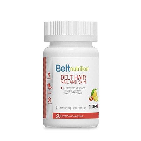 Belt Hair Nail and Skin Limonada com Morango - 30 Cápsulas