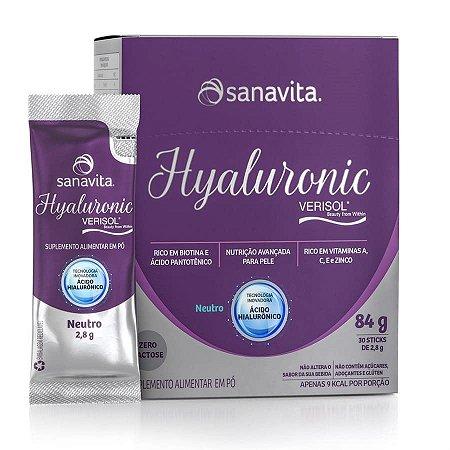 Hyaluronic Verisol Neutro Sanavita - 30 Sachês