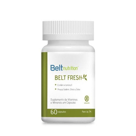Belt Fresh Neutralizador de Odores Corporais 60 Cápsulas - Belt Nutrition