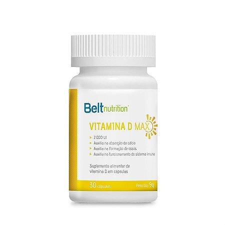 Vitamina D Max - 30 Cápsulas Belt Nutrition