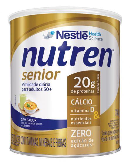 Nutren Senior Pó - Sem Sabor - 740g