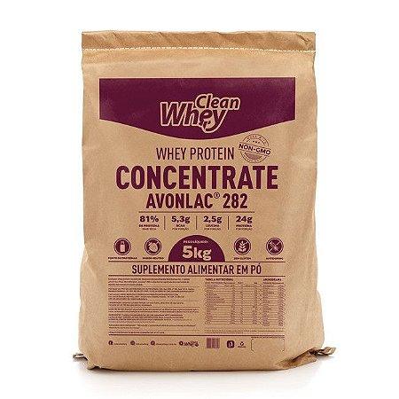 Clean Whey Concentrado Classic - 5kg