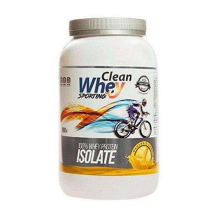 Clean Whey Isolado Sporting Banana com Canela - 900g