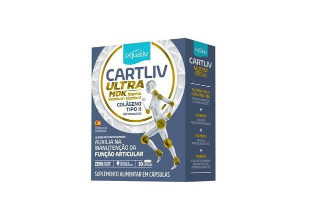Equaliv Cartliv Ultra MDK - Colágeno Tipo II - 30 Cápsulas