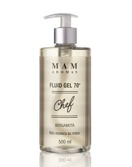 Álcool Fruid Gel  70º - Mam Aromas
