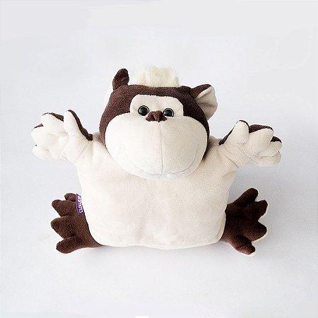 Pelúcia com Almofada Térmica Macaco