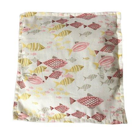 Almofada Térmica Baby Peixes Rosa
