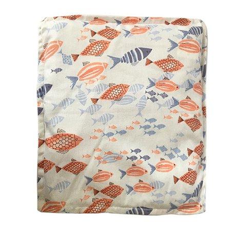 Almofada Térmica Baby Peixes Azul