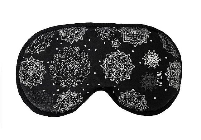 Máscara Térmica Linha Premium - Mandala Preta
