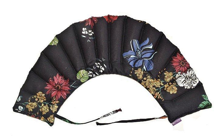 Saco Térmico G - Black Flowers