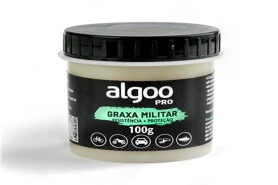 Graxa Militar Alta Resistência 100g - Algoo