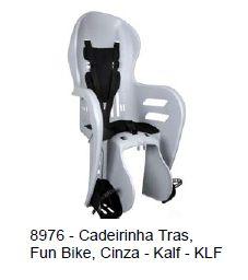 Cadeirinha Kalf p/ Crianca Fun Bike