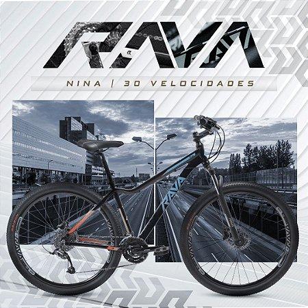 Bicicleta Rava Nina | 24 v.