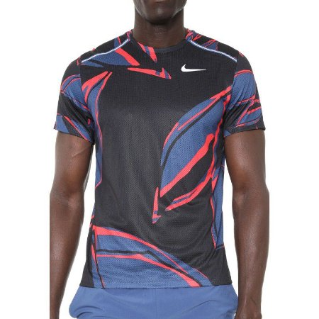Camiseta Nike Miler Ss Fiesta Floral CD0124 469