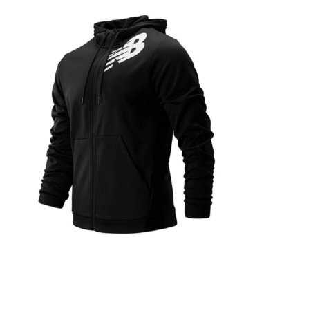 Jaqueta New Balance Tenacity Fleece Masculino Preto MJ93020