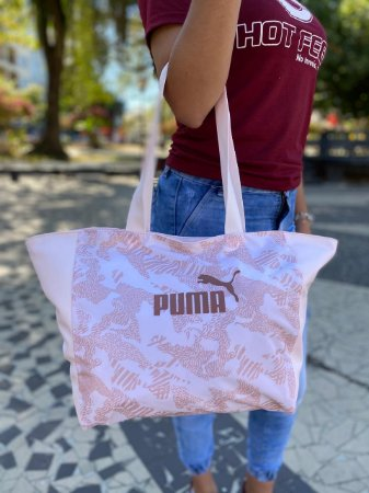 Bolsa Puma Core UP Rosa