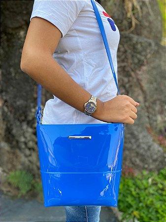 Bolsa Petite Jolie Easy Azul Mirtilo PJ6015