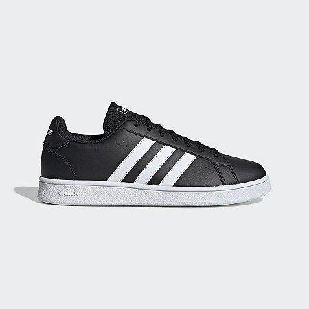 Tênis Adidas Grand Court Base Masculino Preto EE7900