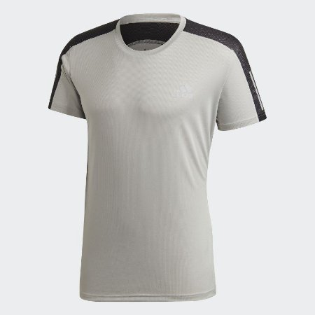 Camiseta Adidas Own The Run Tee Masculina Verde Musgo FT1432