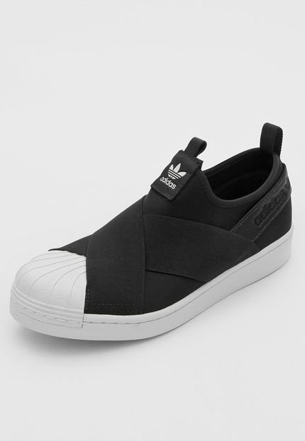 Tênis adidas Originals Superstar Slip On Preto EW2053
