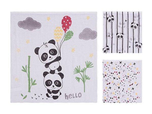Colibri Kit Fraldas Baby 48011 Cor Panda