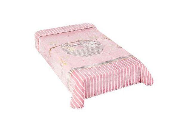 Colibri Cobertor Bebê 48555 Cor Rosa