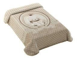 Colibri Cobertor Bebê 47659 Cor Bege