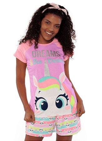 Puket Pijama 030602157 Cor Rosa