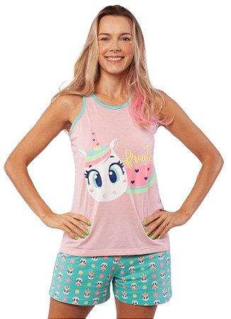 Puket Pijama 030602196 Cor Rosa