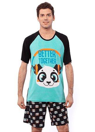 Puket Pijama 030602182 Cor Preto