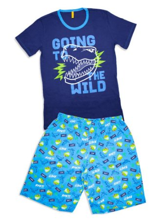 Puket Pijama 030602198 Cor Azul