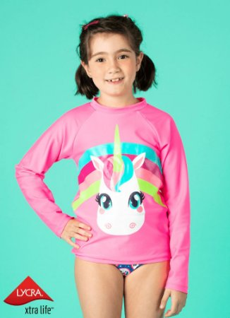 Puket Camiseta Para Nadar 110500269 Cor Pink