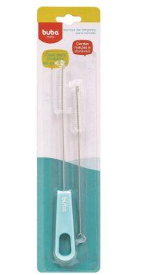 Buba Baby Escova De Limpeza Para Canudo 09735 Cor Azul
