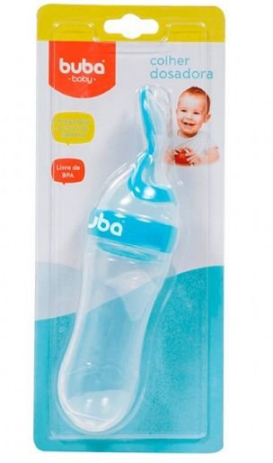 Buba Baby Colher 5989/90 Cor Azul