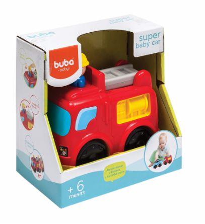 Buba Baby Brinquedo 08604 Cor Vermelho
