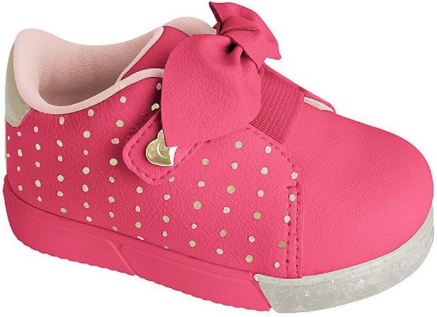 Pampili Tenis Infantil Feminino 471.003 Cor Pink