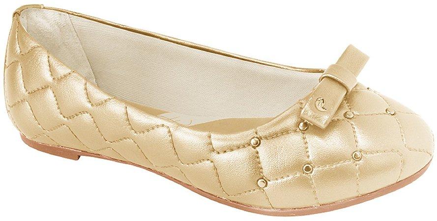 Pampili Sapato Feminino 295166 Cor Dourado