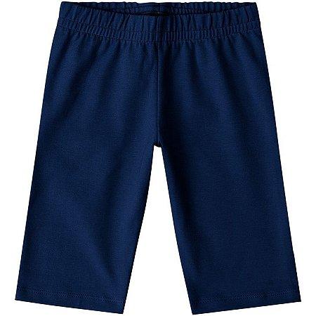 Kyly Bermuda Inf Fem Cotton P106.315 Cor Azul Marinho
