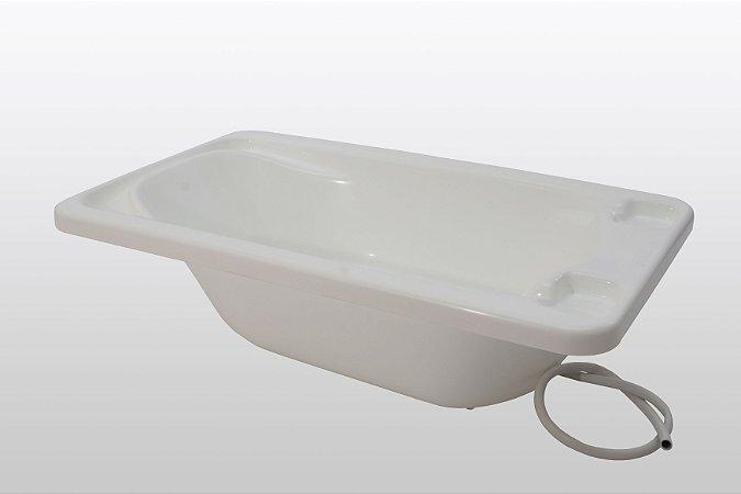 Galzerano Banheira Bebe Plastica 7055 Cor Branco