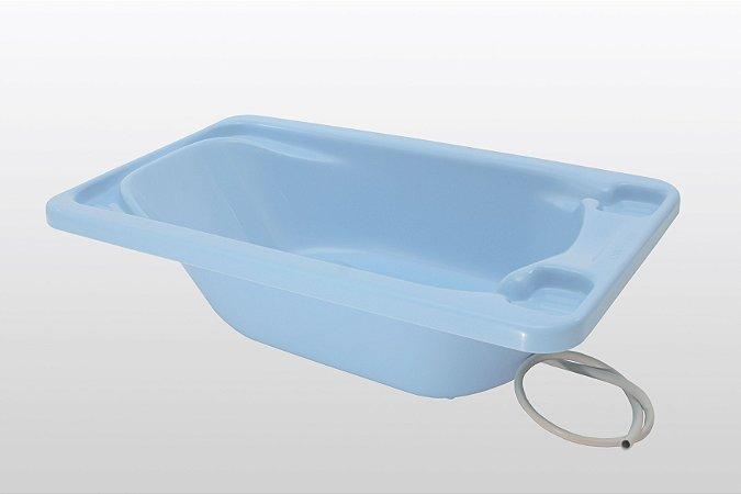 Galzerano Banheira Bebe Plastica 7055 Cor Azul