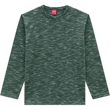 Kyly Camiseta Infantil Masculina Manga Longa 206296 Cor Verde